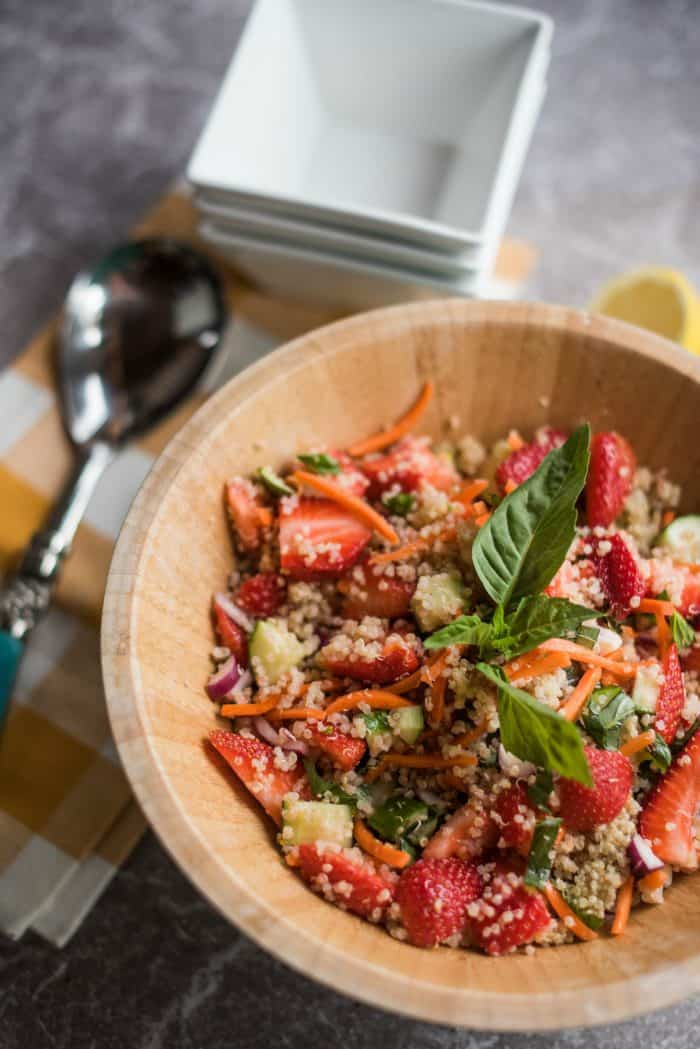 Strawberry Quinoa Salad