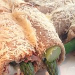 Whole Wheat Asparagus and Bacon Wraps