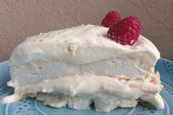 Lime Meringue Cake