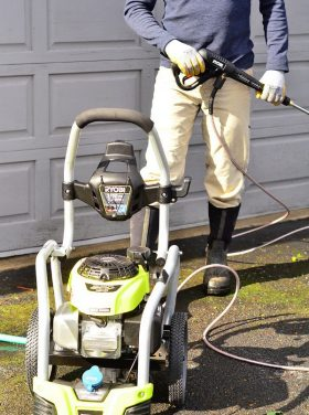 Ryobi 3100-PSI 2.5-GPM Honda Engine Gas Pressure Washer