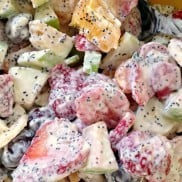 Fresh Fruit Salad & Poppyseed Dressing