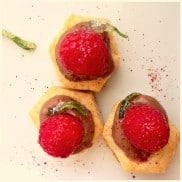 Puff Pastry Nutella Raspberry Bites