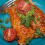 Rockfish Enchiladas