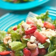 How to Grow Lettuce and Green Salad Recipe with Strawberries, Watermelon, and Cashews