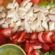 Beat the Heat with Strawberry Watermelon Chicken Salad