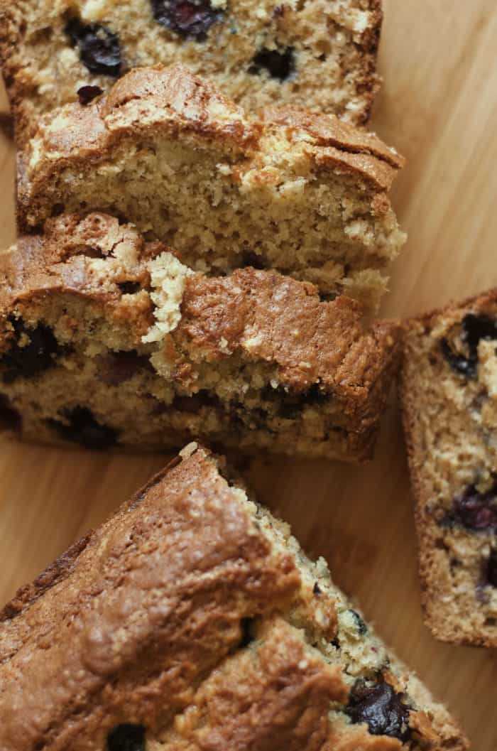 Easy Blueberry Moist Banana Bread Recipe