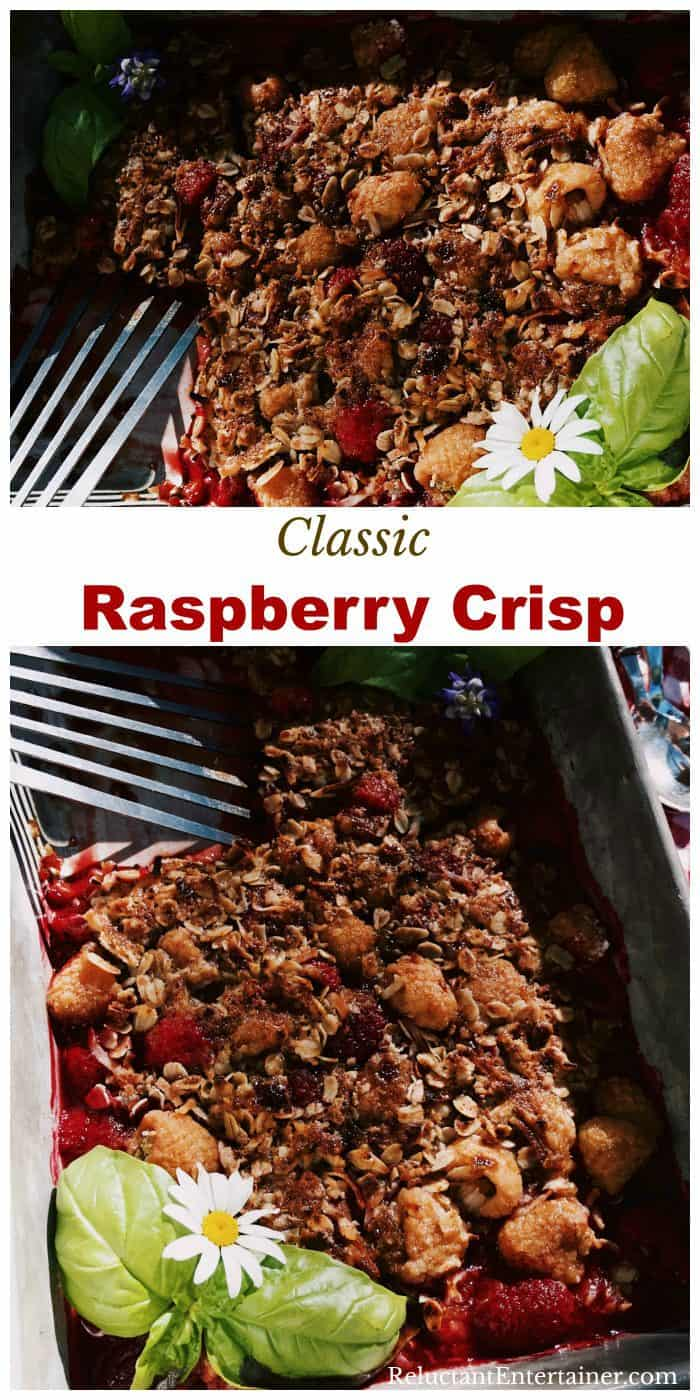 Fresh Raspberry Crisp