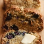Garden Gift Ideas and Moist Banana Bread Recipe with Blueberries
