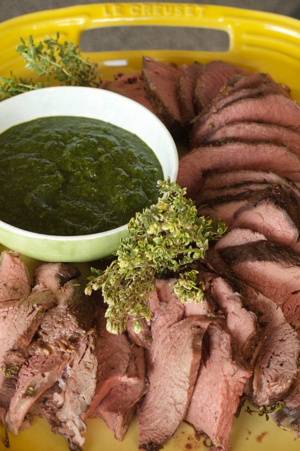 Cooking Beef Tenderloin with Fresh Herbs
