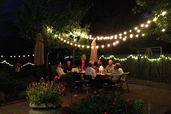 Novelty Lighting for Outdoor Entertaining