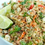 Zesty Lime Blackeyed Peas Quinoa Summer Salad