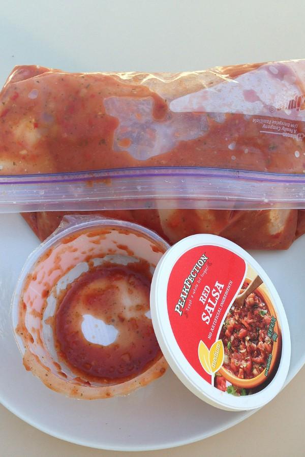 One-Pot Salsa Chicken Recipe