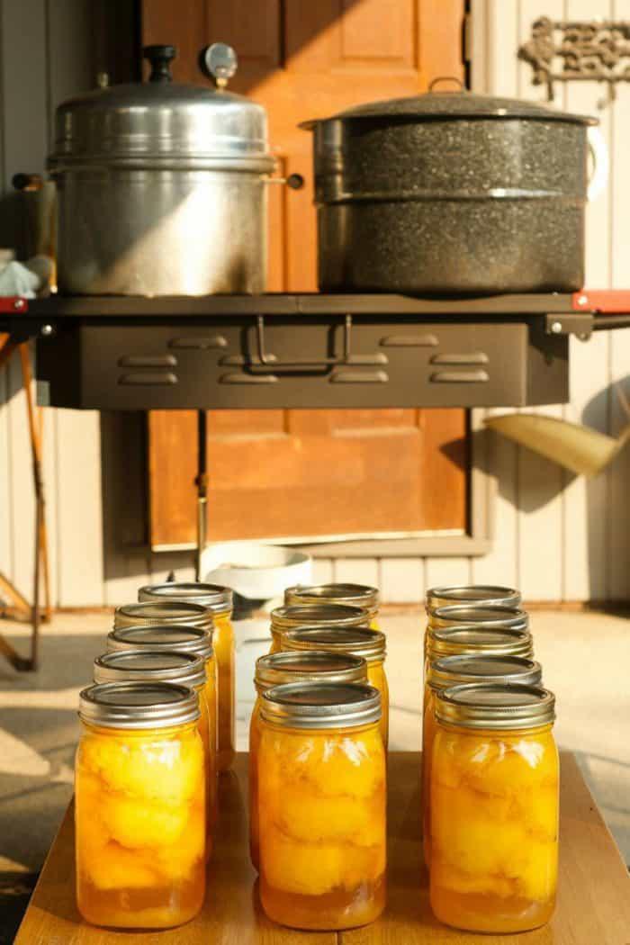 Moist Peach Kuchen Recipe - canning peaches