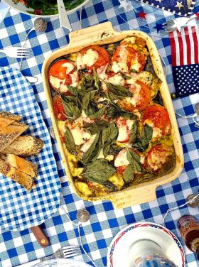 The Perfect Camping Meal: Zucchini Casserole