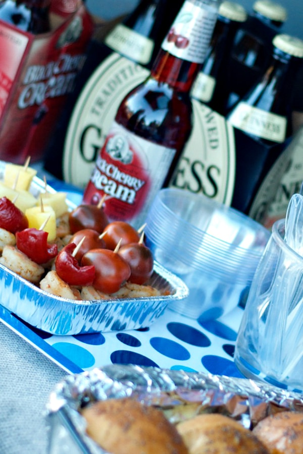 Tailgating with Shrimp Bacon Sliders
