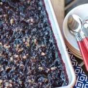 Make-Ahead Frozen Berry Cobbler