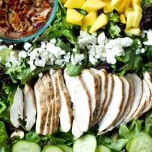 Chicken Mango Bacon Salad