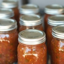 Home Canned Salsa