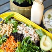 #GloriousAutumn + 3-Ingredient Smoky Dressing with Green Salad Recipe