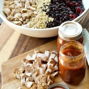 Freezer Burrito Recipe with Chicken and Quinoa