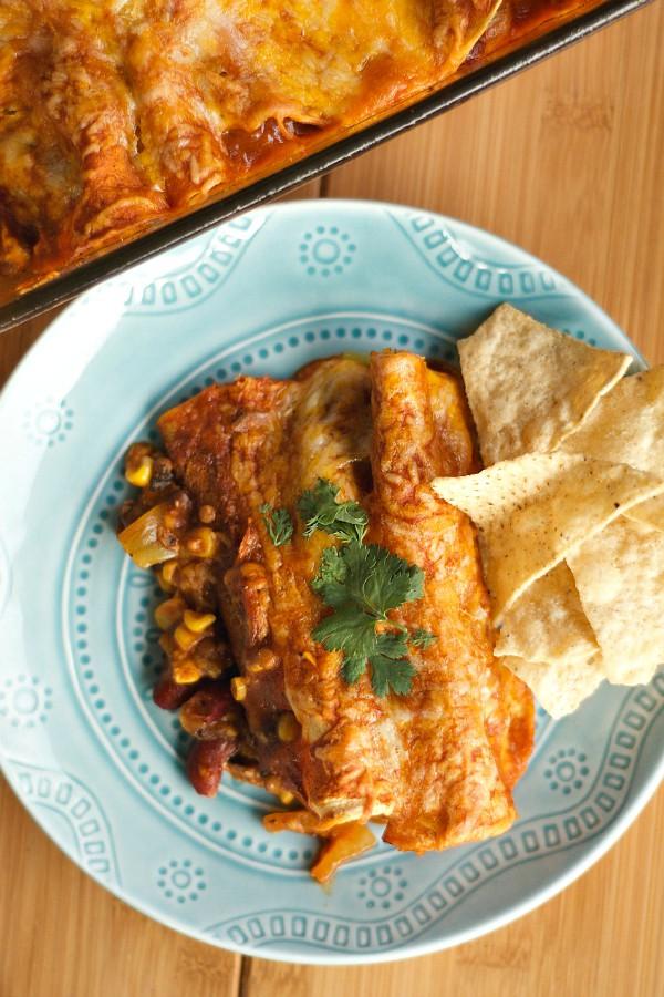 Family Motto: Vegetarian Enchiladas