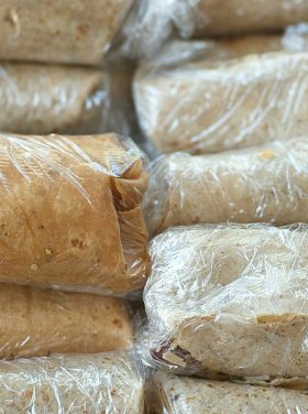 Chicken Quinoa Freezer Burrito Recipe