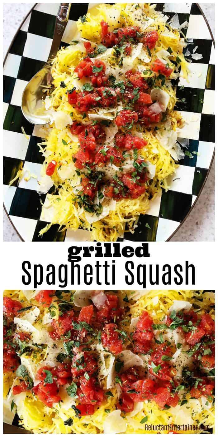 End of summer Easy Grilled Spaghetti Squash Recipe
