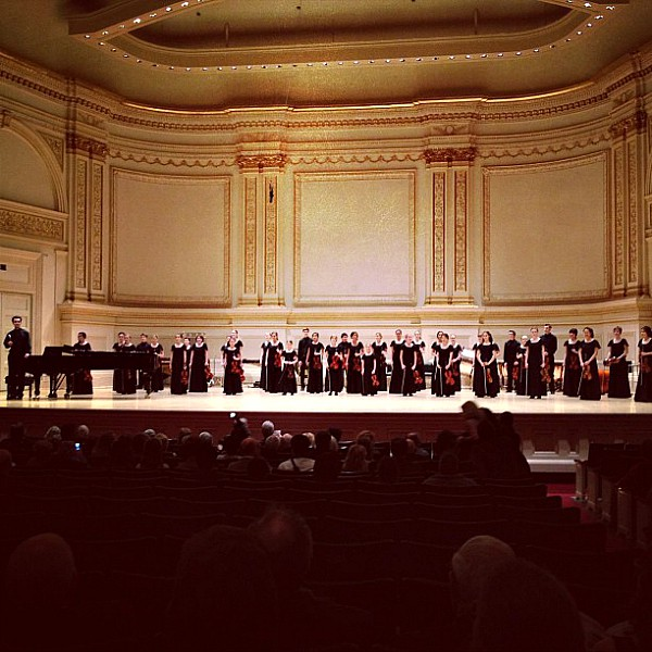 Siskiyou Violins at Carnegie Hall