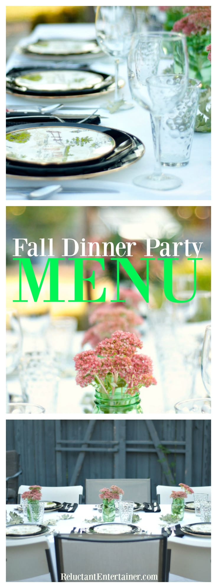 Fall Dinner Party Menu+ Pumpkin Cake with Maple Frosting