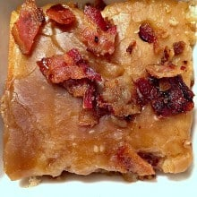Buttermilk Cake with Maple Bacon Glaze