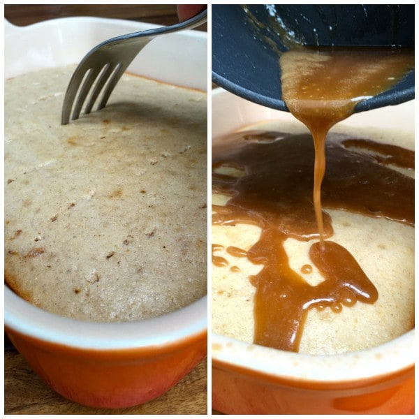 Buttermilk Cake with Maple Bacon Glaze