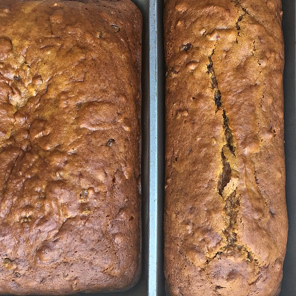 Two Handed Coffee with Pumpkin Date Bread | ReulctantEntertainer.com