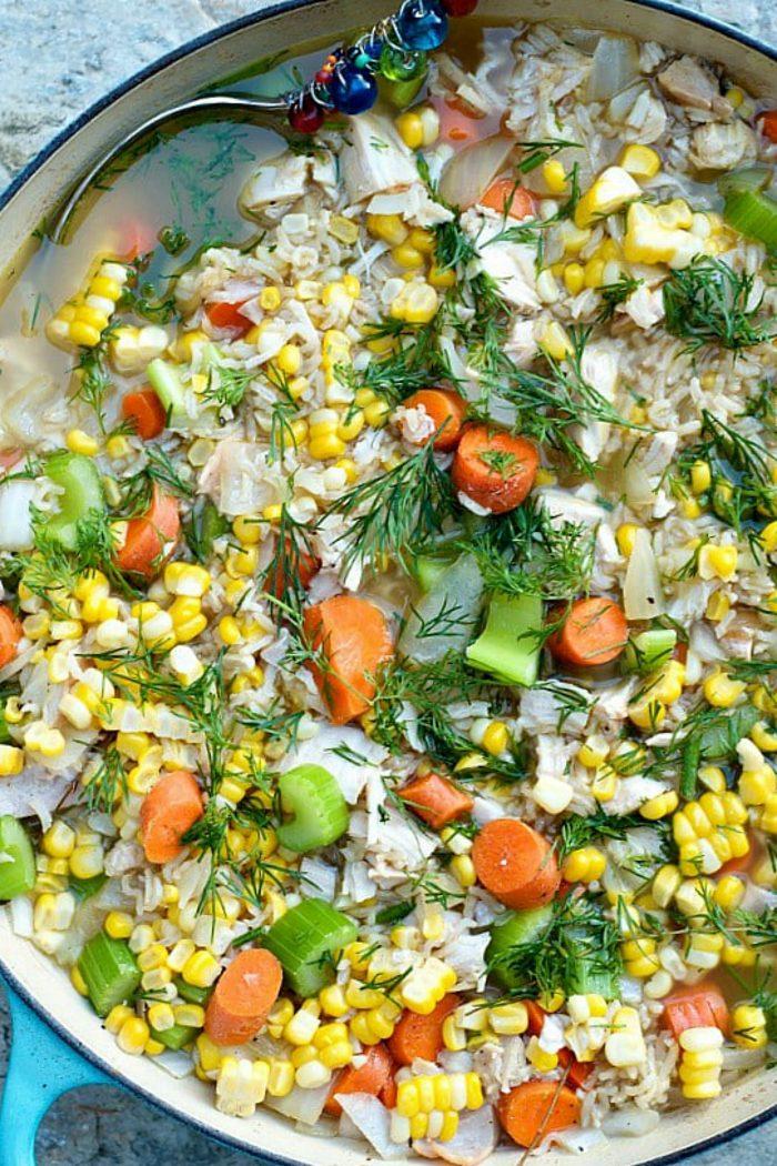 Best Chicken Rice Soup