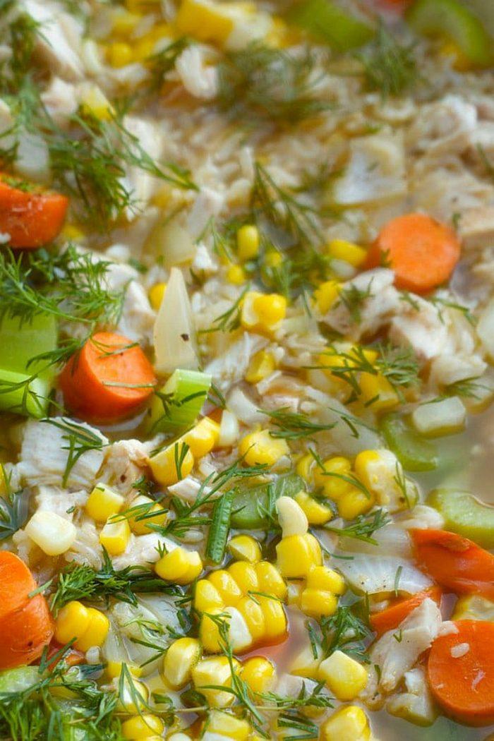 Best Chicken Rice Soup Recipe