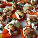 This Apricot Almond Appetizer is the perfect lighter appetizer to bring to a party, and an excellent choice for gluten-free guests!