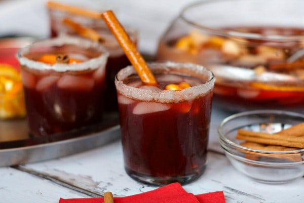 Spiced Red Beet Sangria