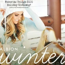 Holiday Albion Fit Giveaway!