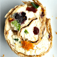 Cranberry Orange Pinwheels Appetizer