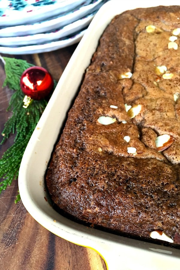Make-Ahead Chocolate Coffee Cake | ReluctantEntertainer.com
