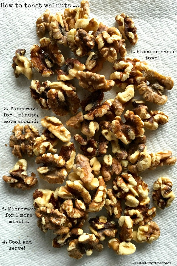 How to Toast Walnuts