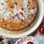 Sweet Garbanzo Bean Flourless Cake