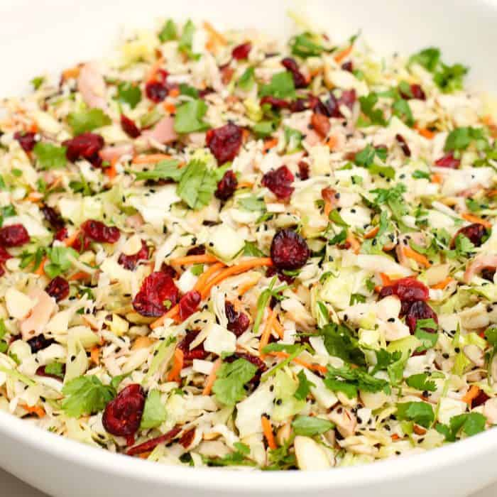 Asian Chicken Cranberry Salad Recipe