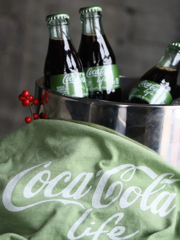 Green Coca Cola Life Winter Party!