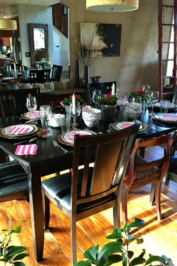 Q Squared Valentine's Table