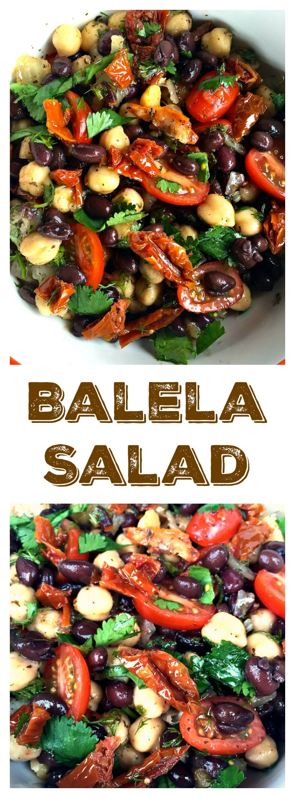 Gluten-Free, Vegetarian, Vegan--Game Day Balela Salad