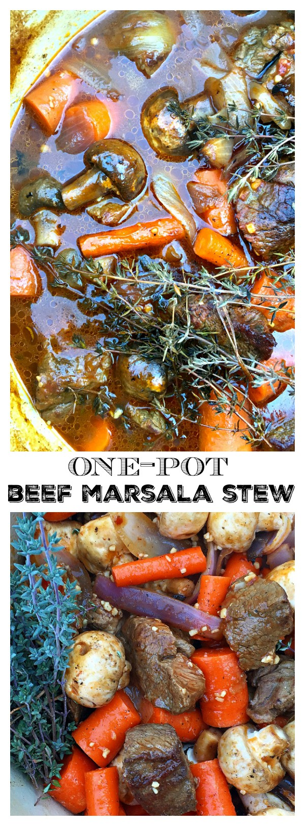 One-Pot Beef Marsala Stew