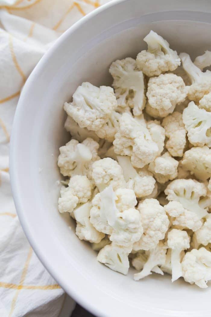 plain cauliflower