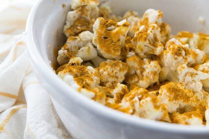 tasty Skinnytaste's Turmeric-Roasted Cauliflower