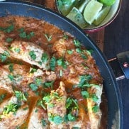 Creamy Salsa Chicken Tenders