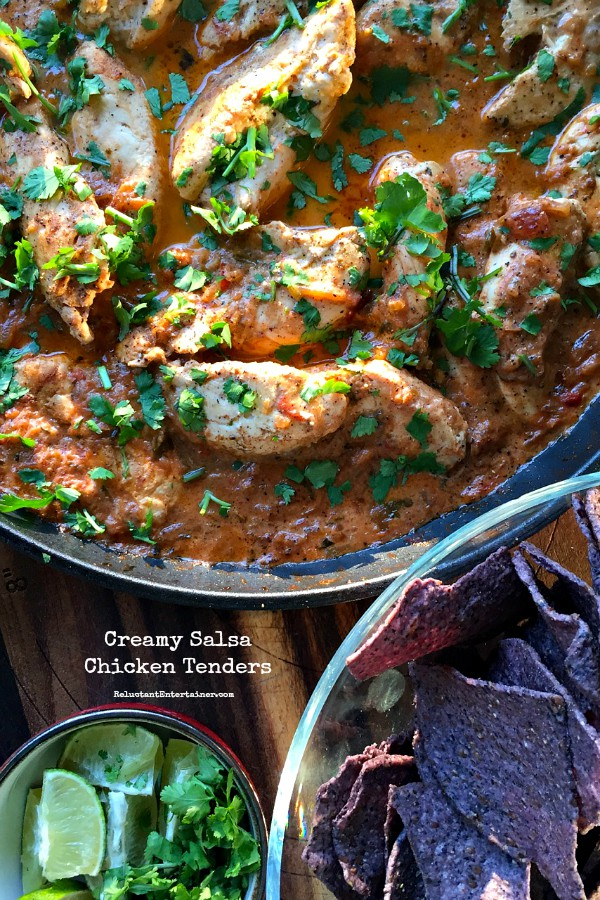 Recipe with canned chicken and salsa